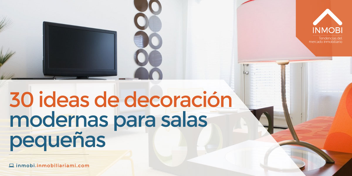 ideas de decoracin modernas para salas pequeas
