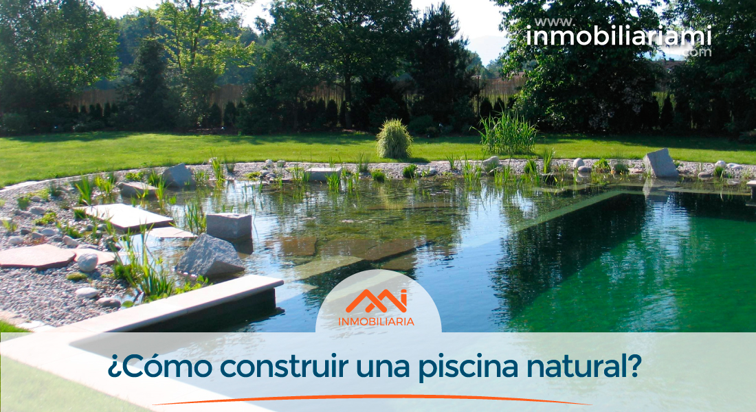 C mo construir una piscina natural for Como disenar una piscina